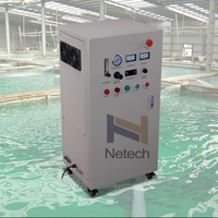 10-50g/h water cooled ozone generator for swimming pool in water clean