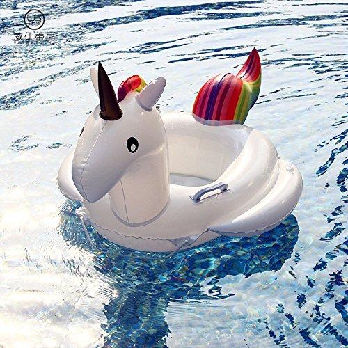 Buy Baby Pool Float Unicorn Inflatable Boat Children Inflatable ...