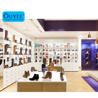 Fashion Customizedl Shoe Store,Wall Amount Shoe Store Fixture ,Shoes Shop Interior Design For Sale