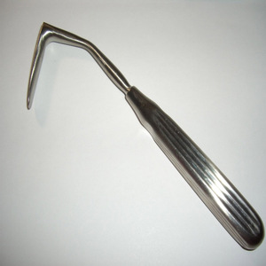 "AUFRICHT RETRACTOR SPECULUM 6.50"" SURGICAL INSTRUMENTS STAINLESS STEEL"