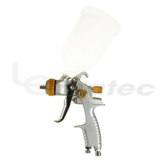 プロ HVLP スプレーガン塗料エアスプレーガン重力自動空気圧ツール LEMATEC 600 ミリリットル