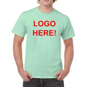 Promotional Wholesale Polyester Cotton Mint Green Seafoam Spring Plain Cotton T shirt 190gsm Made in Sri Lanka
