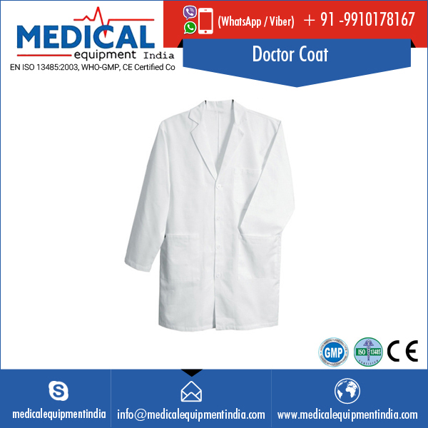 High Grade Fabric Made Doctor Coat Available in All Size