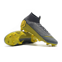 2019 Hot Sale Men Soccer Shoes Original High Ankle Football Boots Superfly VI 360 Cleats Factory Wholesale