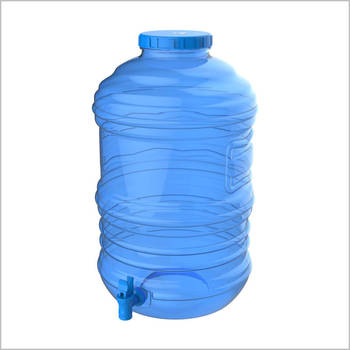 5 gallon PET water bottle with handle BPA Free safe for food & Beverage neck 55mm