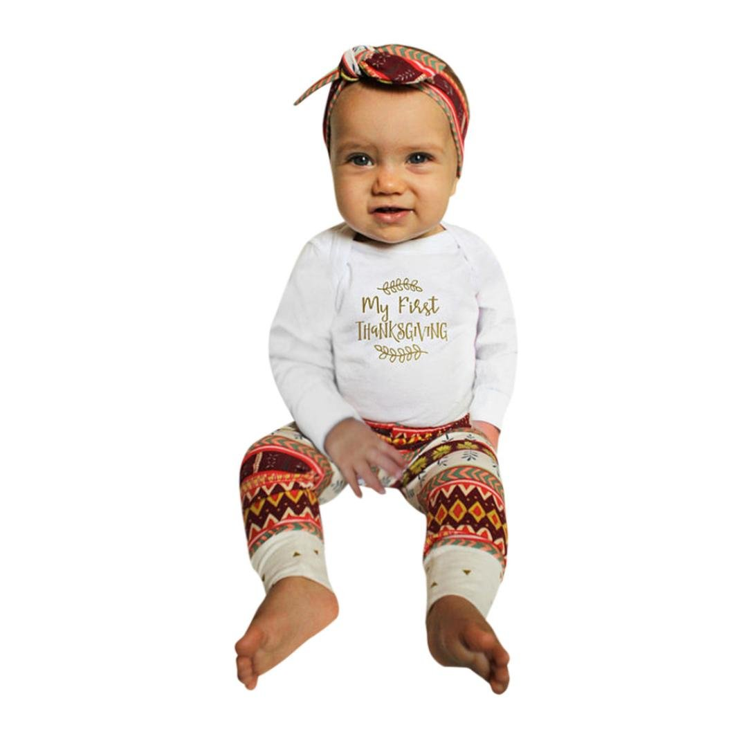 880f3c86286b Get Quotations · Thanksgiving Baby Clothes Set