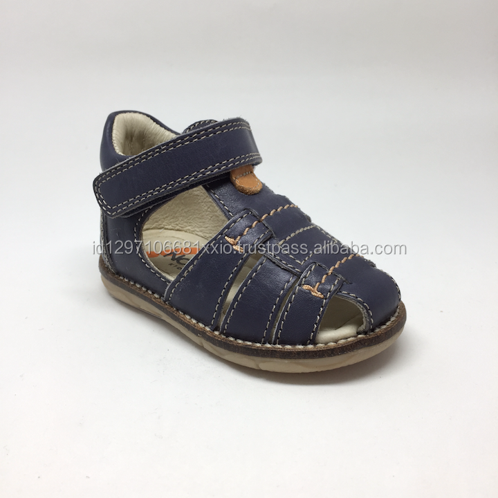 OEM Factory - Summer Spring kid shoes, leather sandal, super comfortable and nice to wear