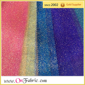 Poly Mesh P D Glitter 58 60 Whole Fabric For Wedding