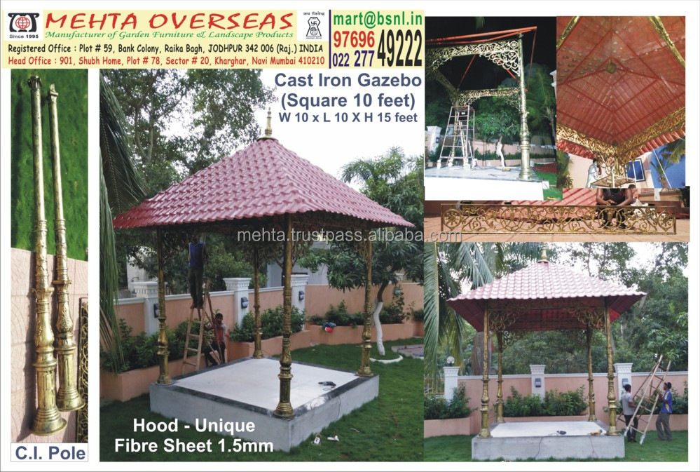 Cast Iron Gazebo Cast Iron Gazebo Suppliers and Manufacturers at