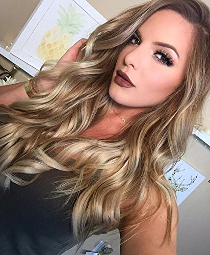 Buy Givmiluck Free Stochastic Choker Synthetic Ombre Wigs Non Lace
