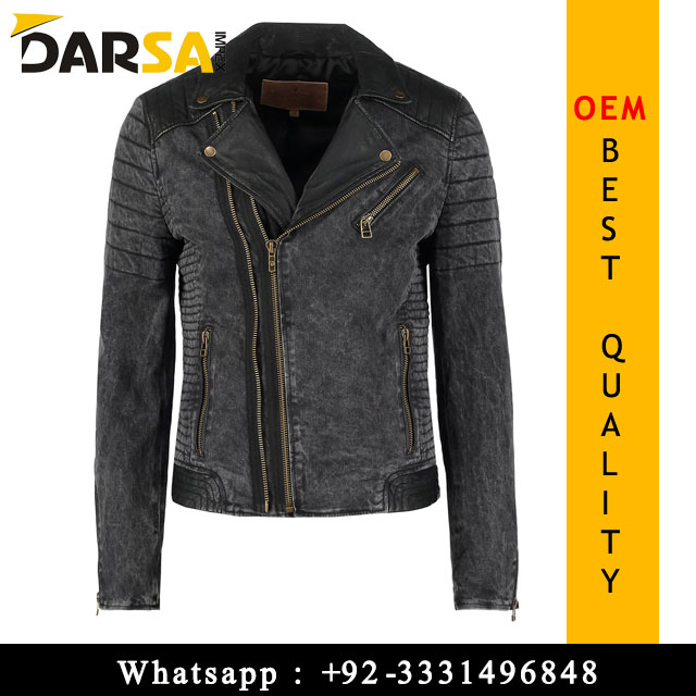cheap biker leather jacket for men
