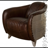 Aviator Sofa Armchair | Aviator one Seat Chair - jodhpureexport
