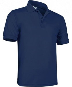 Custom cotton two color men polo t shirt uniform cheap polo shirts
