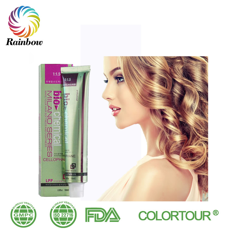 Colortour Permanent White Natural Blonde Hair Dye With New Hair