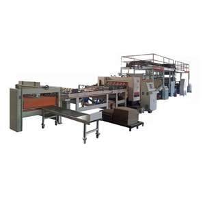 MJSGL-4 single facer corrugation machine single facer corrugated product line,carton box making machine prices