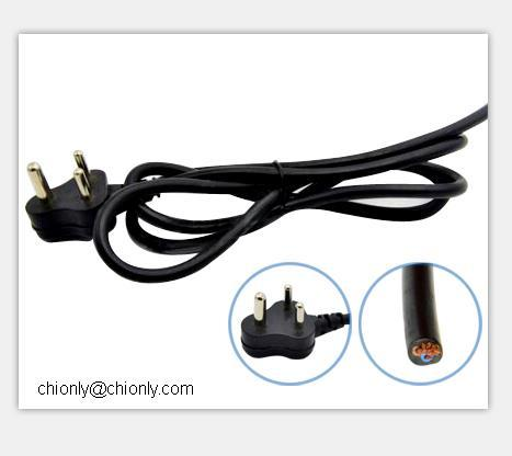 South Africa Standard Plug Cable Power Cord Extension Wire Buy South African Standard Plug Power Cord Plug Cable Product On Alibaba Com