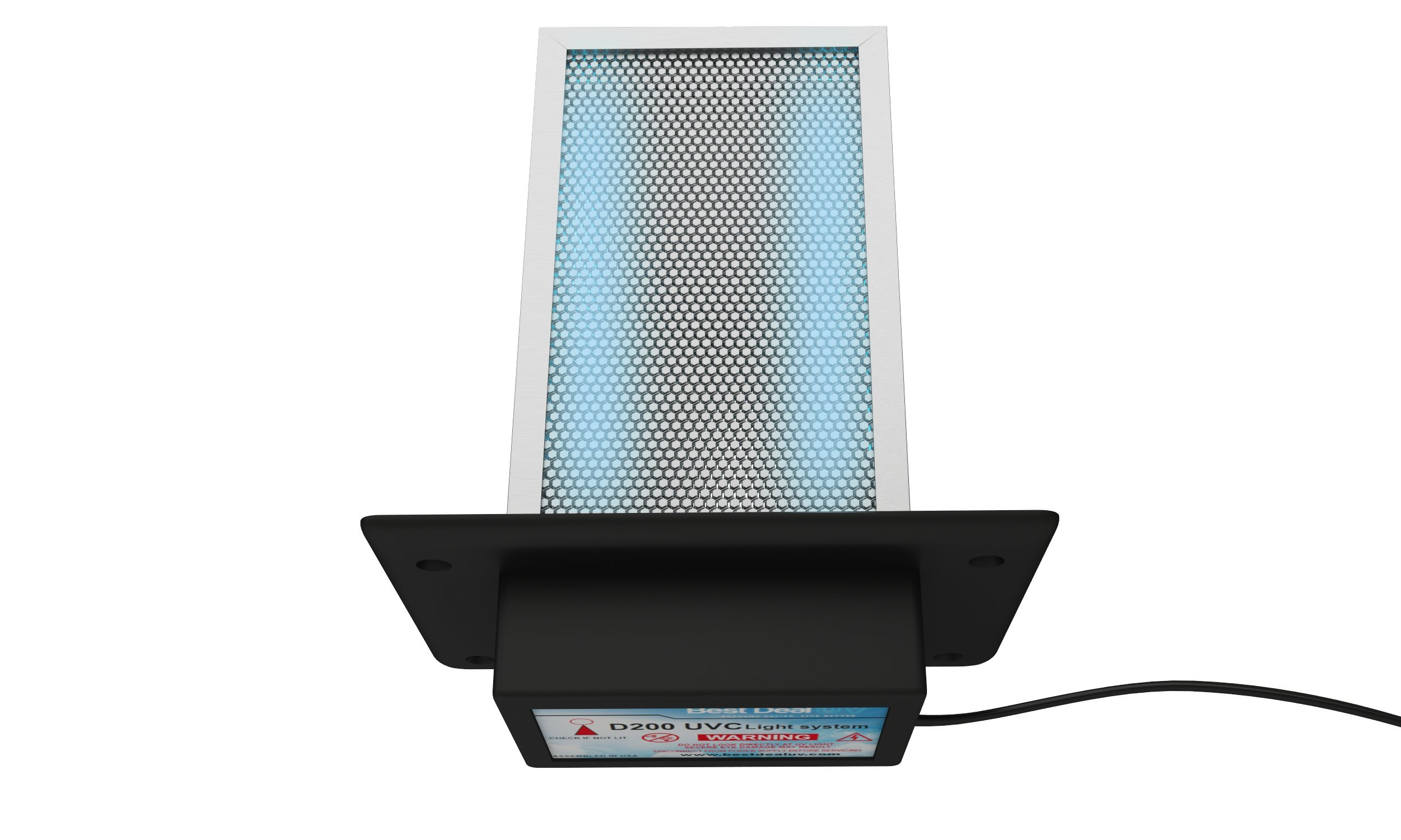 Air Purifier whole house UV Light in duct for HVAC AC Duct Germicidal Filter