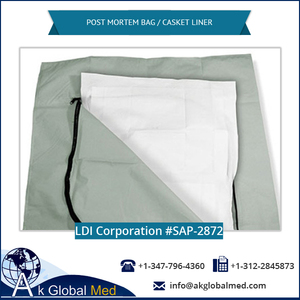 LDI Corporation SAP-2872 Polyester Post Mortem Bag / Casket Liner
