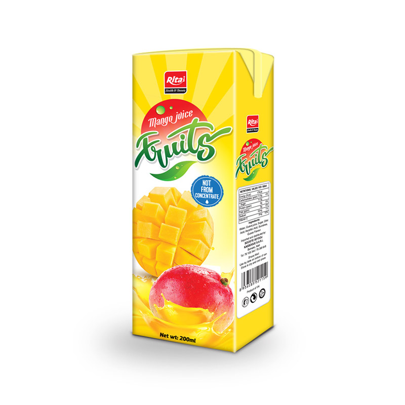 200ml NFC Mango Fruit from Vietnam