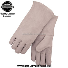 Safety Welding Gloves, Custom Hand Protective Working Glove