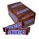 Snickers Chocolate Candy Bar With Caramel & Peanuts Nougat