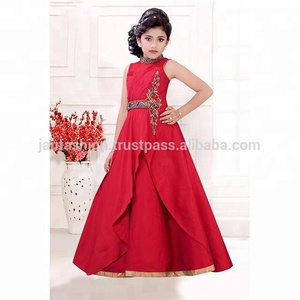 Kids Fashion Clothes / Indian Party Wear Dresses For Kid / Beautiful Gown For kids