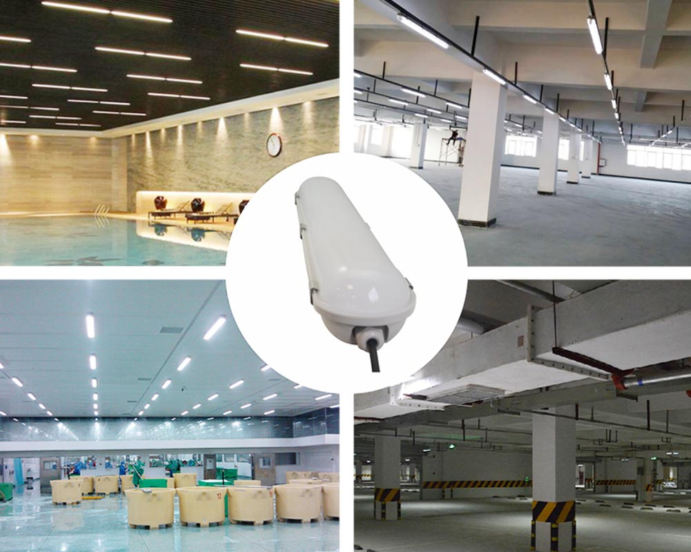 china supplier waterproof dustproof LED tri-proof light IP65 20W 600mm 4000K led tubes light for factory warehouse metro garage