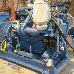 MTU 16V2000 diesel generator set 900KVA