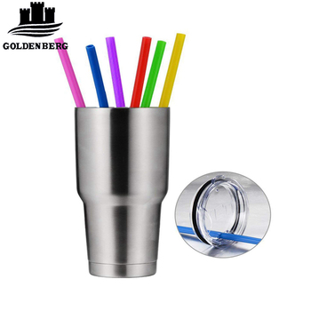 Japan Custom Reusable Folding Silicone Drinking Straw With Cleaning Brushes  - Buy Custom Made Drinking Straws,Drinking Straw Manufacturing