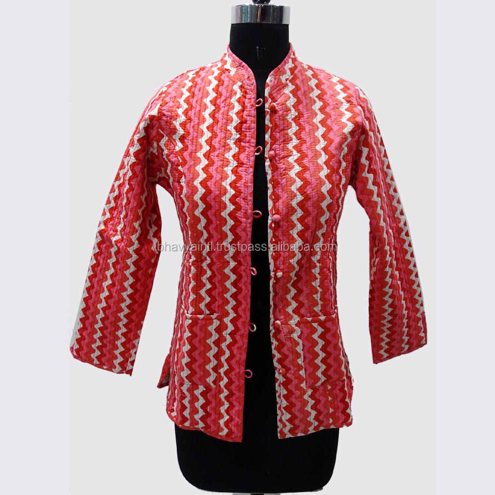Beli Indonesian Set Lot Murah Grosir Galeri Gambar Hanyafoto Mesin Berlapis Kapas Jaket Desainer Indian Handmade Reversible Mantel Musim Dingin