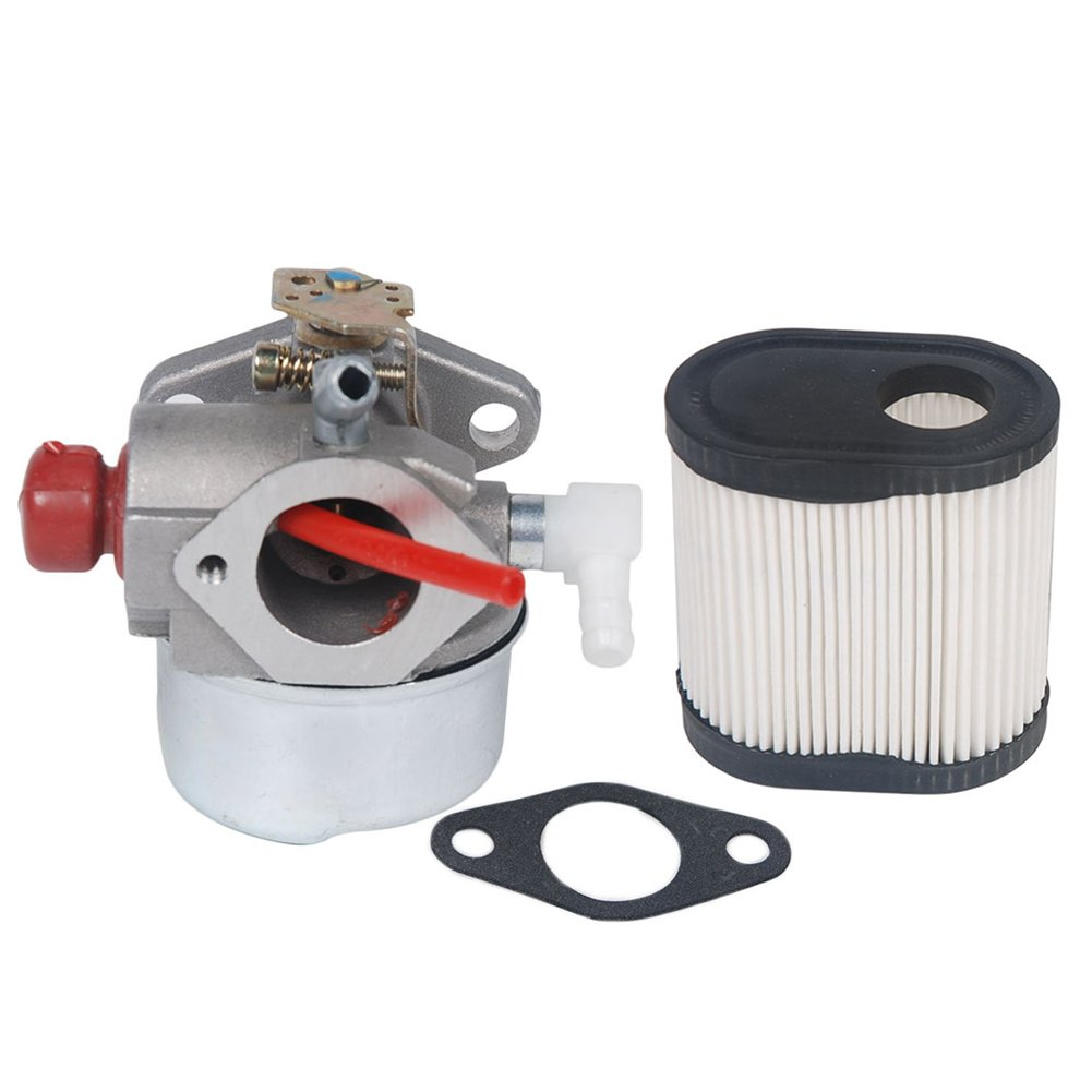 HIFROM Replace Carburetor Carb kit for Tecumseh Lawn Boy INSIGHT 10682 10683 10684 10685 10686 10687 with Air Filter 36905 740083A TC-36905 LEV100 LEV115 LEV120