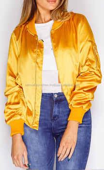 European Style Diamond Stitching Cotton Padding Quilted Bomber