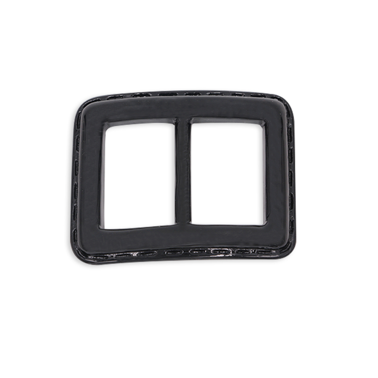 Chinese Factory make custom plastic black belt buckles for women dresses clothing garment and accessories in belt buckle