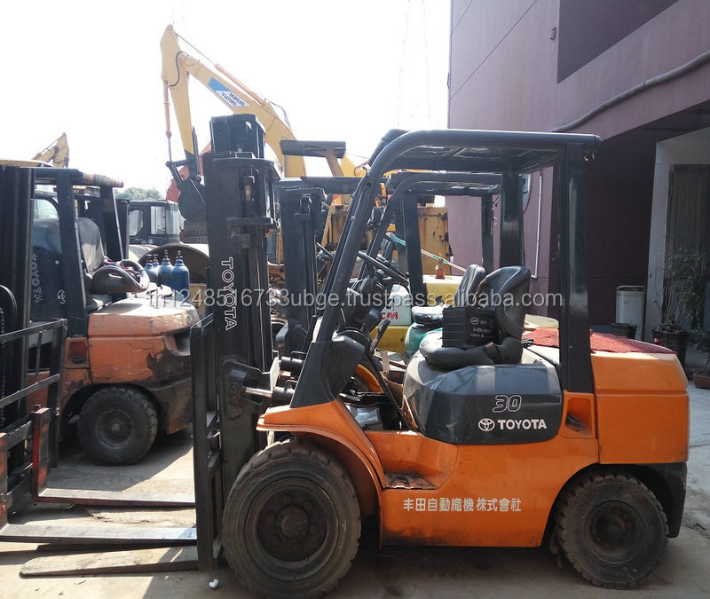 Hot sale toyota forklift 3ton/ used 3 ton toyota forklift FD30