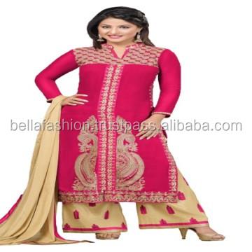 Other Women's Clothing Trend Mark India Punjabi Patiyala Salwar Suit Pakistani Blue Designer Girls Salwar Kameez Let Our Commodities Go To The World Clothing, Shoes & Accessories