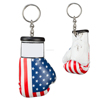 Wholesale 3D custom mini boxing glove keychain