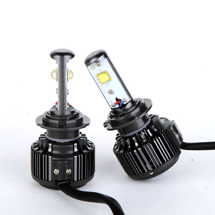 rtd led motorcycle headlightV16 car led headlight original bulbs halogen 40w 4800lm h4 h7 h3 9005 880 h1