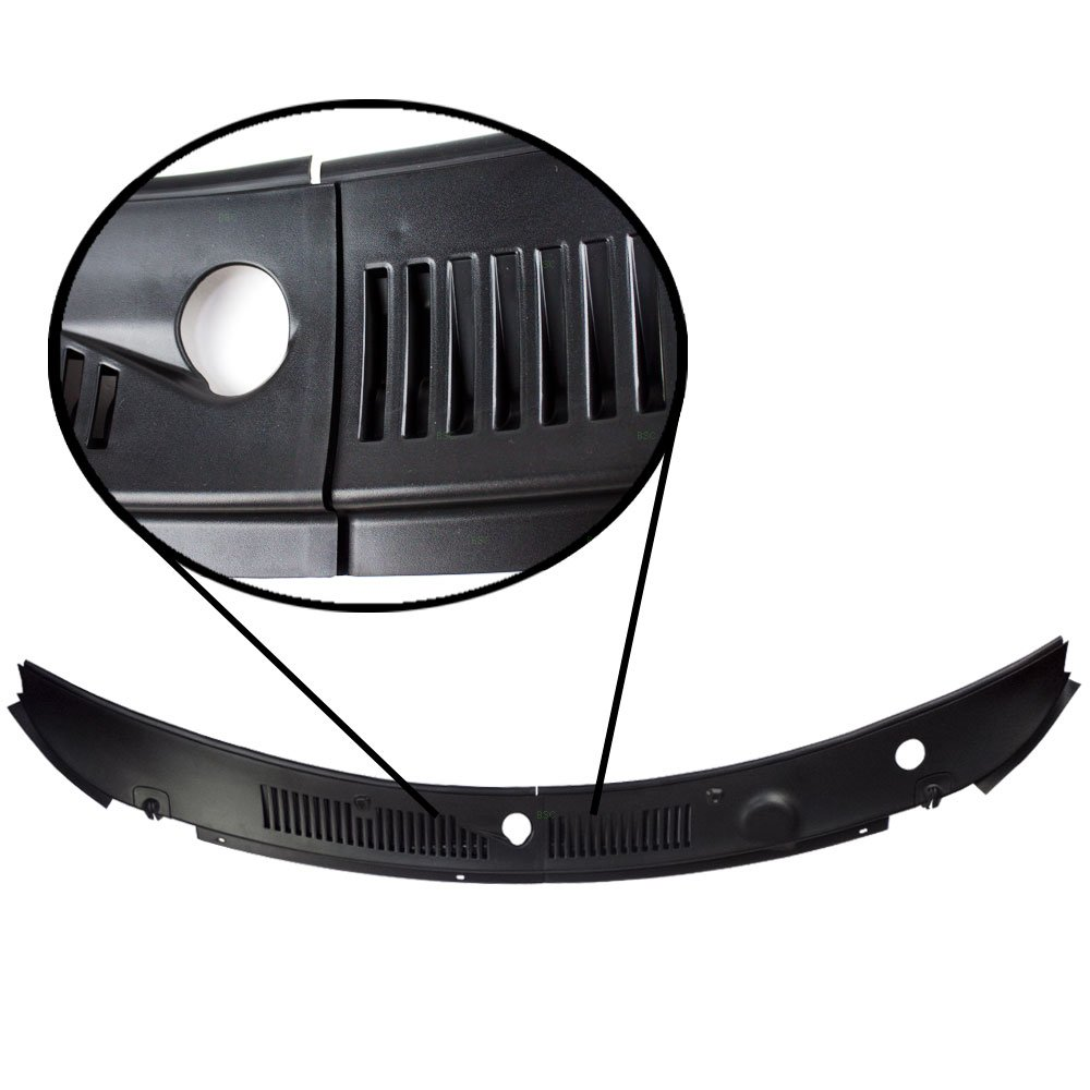Buy IMPROVED 2-Piece Windshield Wiper Cowl Vent Grille Panel