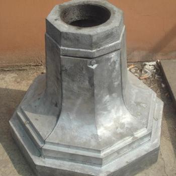 Cast Aluminum Outdoor Lamp Post Parts Base Buy Cast