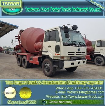 Nissan Concrete Mixer Truck For Sale - Buy Nissan Ud Trucks For Sale  Product on Alibaba com