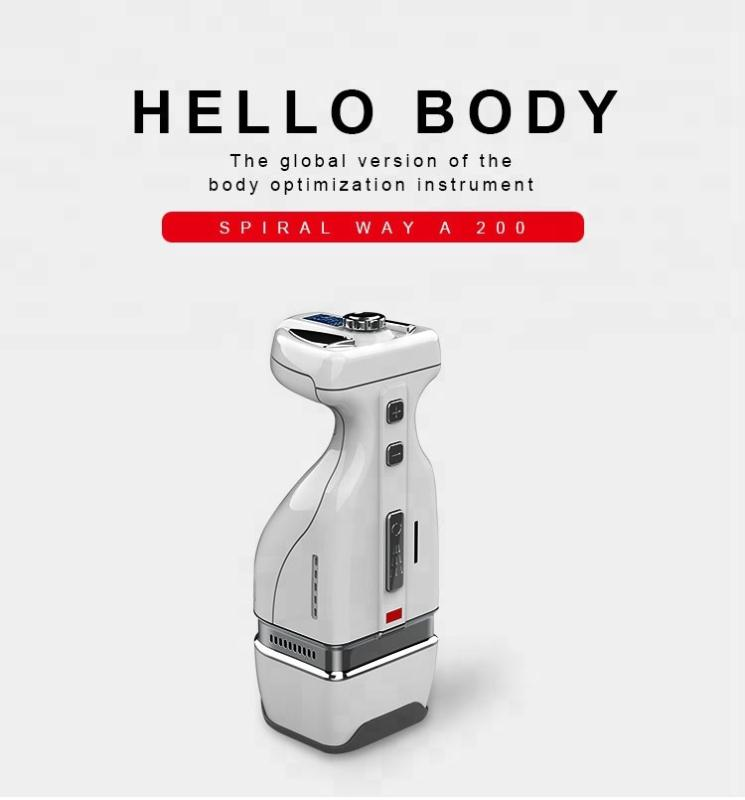 Trending product hifu beauty instrument home use body slimming/ fat treatment machine