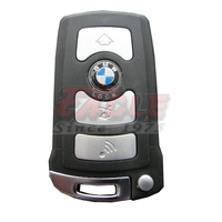 BMW 7 Series 4 Button Remote Slot Key 434mhz