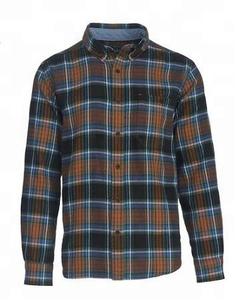 Flannel shirt. Men flannel shirt