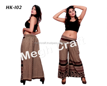 f15478f2c2 DESIGNER PLATE UMBRELLA TROUSER PANTS -BOHO STYLE PALAZZO PANTS -INDIAN  FUSION WEAR PANTS
