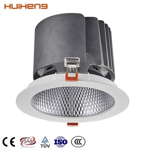 Brand New 3 Years Warranty Dimmable 30W 45W 125mm Cutout Ceiling LED COB Downlight