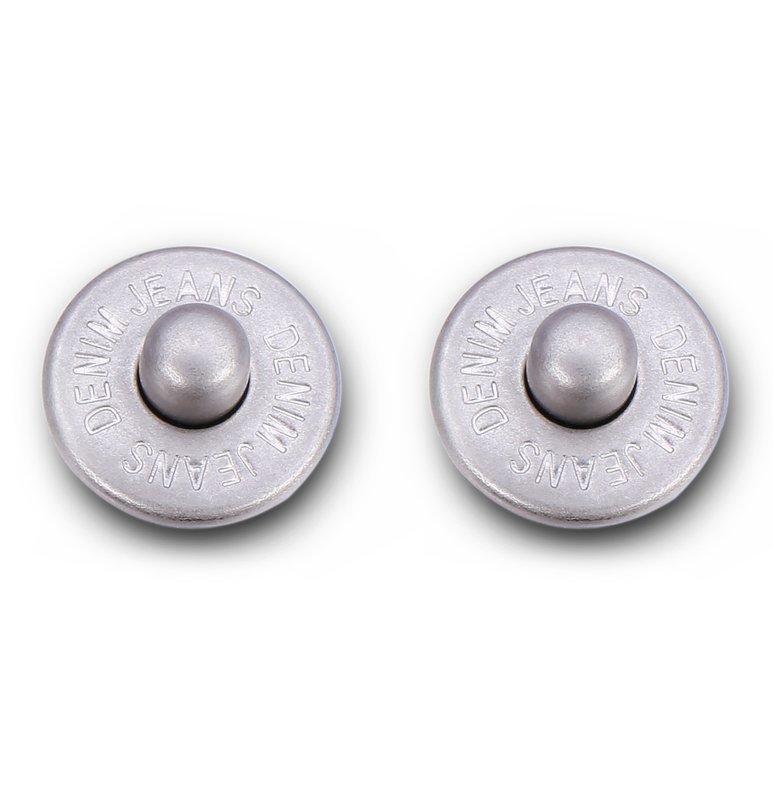 Factory cheaper price brass denim copper metal rivet button for jeans