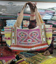 Weinlese-<span class=keywords><strong>banjara</strong></span> tasche-gypsy tribal ethnic einkaufstasche-böhmischen kutch <span class=keywords><strong>banjara</strong></span> tote handtaschen vintage umhängetasche