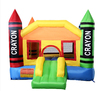 cheap home use Crayon inflatable nylon bouncer,residential inflatable bounce castle