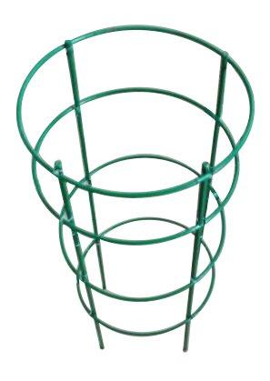 """Mr Garden Plant Cage, Crab Cactus Trellis 13.4"""" Dia x 19.5"""" H, Green"""