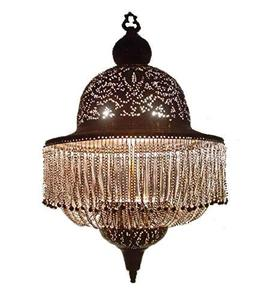 BR189 Antique Reproduction Moroccan Dome Lampshade Pendant Chandelier